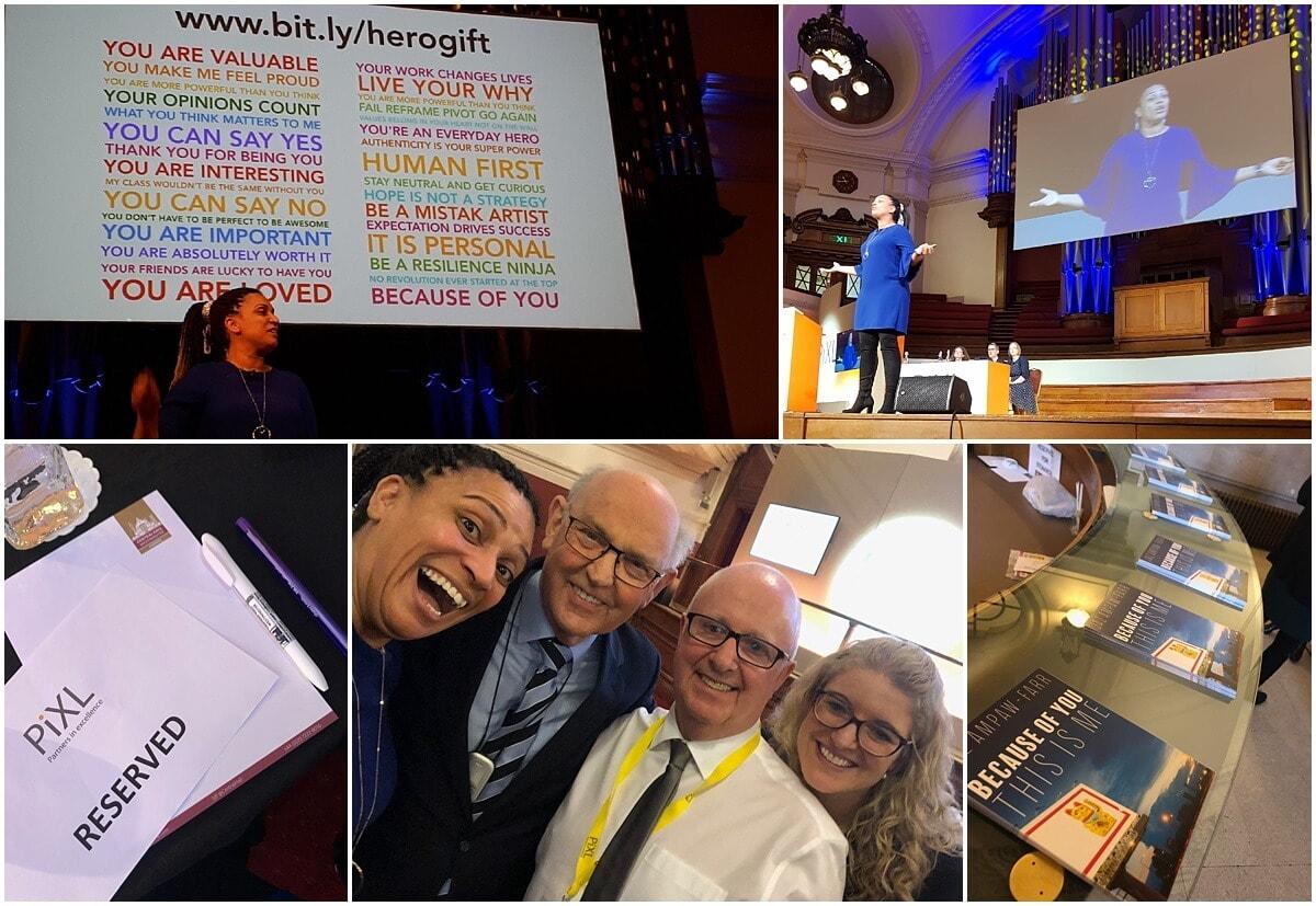 Keynote for PiXL6 in London